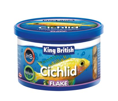 King British Cichlid Flake with IHB