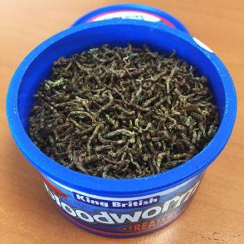 King British Bloodworm Treats Open