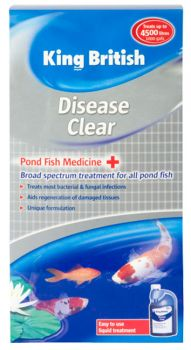 King British Disease Clear for pond fish