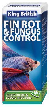 King British Fin Rot & Fungus Control fish medicine