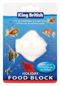 King British Holiday Food block for fish