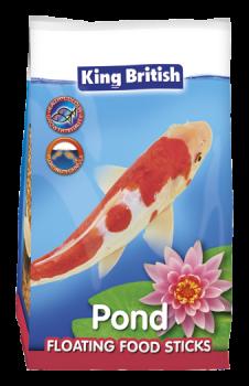 King British Floating Food Sticks