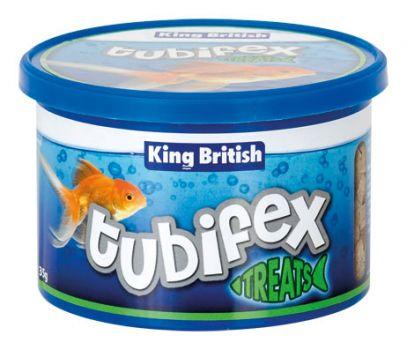 King British Tubifex Fish Treat