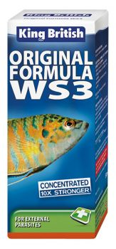 King British Original Formula WS3 white spot medicine for fish