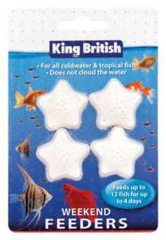 King British Weekend Feeders for fish