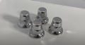 32mm/33mm Nut Covers, Pack of 10, Anti- Rust, Truck Wheel Trims