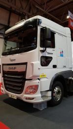 Lower Level Passenger Window to suit DAF XF - Fully Fitted, Blind Spot Window.