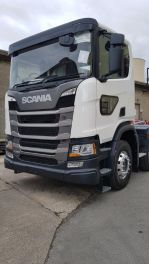Lower Level Passenger Window to suit Scania R New Gen - Fully Fitted, Blind Spot Window.