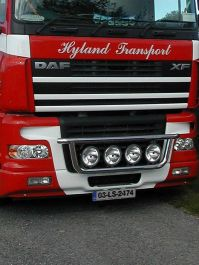 DAF XF 105 Front Light Bar. 2006-2014. Pre-Wired.