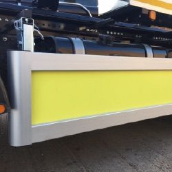 Side Guards and Rails, TFL Safer Lorry Scheme Guards and Cycle safety equipment.