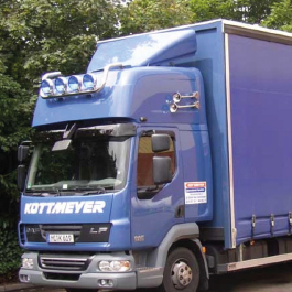 DAF Truck Cab Conversions and Sleeper Pods. High Quality, Spacious and the market leaders.