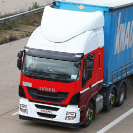 Iveco Stralis Aerodynamics. Home to the revolutionary iAM High Volume Air Management Kit by Kuda UK
