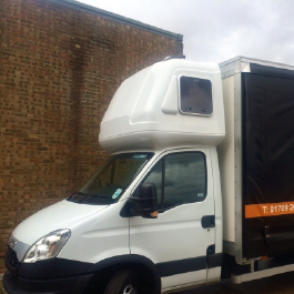 Iveco Daily Aerodynamics and Sleeper Pods. By the Fuel Saving Guru's Kuda UK.
