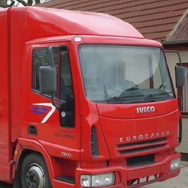 Iveco Eurocargo Truck Aerodynamics, Spoilers and Sleeper Pods by Kuda UK