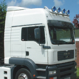 MAN High Roof Conversions. The perfect way of adding extra sleeping space to your cab.