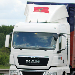 MAN TGA, TGX Aerodynamics. Roof Spoilers, cab collars, high volume air management kits.