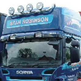 Scania High Roof Conversions, Spacious High Roof Cab Conversions for the Scania 4, T and R Series cabs