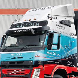 Volvo FH / FM Aerodynamics, Spoilers and Cab Collars. Made from high quality GRP.