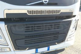 Stainless Steel Mirrored Cover Mask Set Suitable For Volvo FM - 13 Piece Set