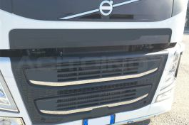 Stainless Steel Mirrored Mask Set Suitable For Volvo FM - 2 Piece Set