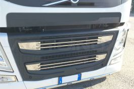 Stainless Steel Mirrored Air Intake Set Suitable For Volvo FM - 6 Piece Set