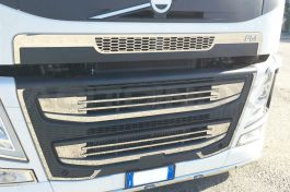 Stainless Steel Mirrored Mask Cover Complete Kit Suitable For Volvo FM
