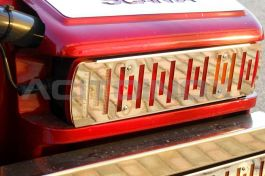 Stainless Steel Mirrored Tail Light Cover Kit Suitable For Scania L, R, & New R Series - Pair