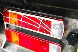 Stainless Steel Mirrored Rear Tail Light Cover Kit Suitable For Scania L, R, & New R Series - Pair
