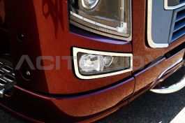 Suitable for Volvo Series 2, FH3 & FM Fog Lighthouse Frame (Pair)
