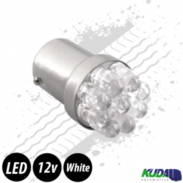 BA15S Reversing Car Bulb LED 12v (White)