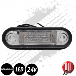 SPECIAL OFFER! - LED Marker Light - 24v. Flush Fitting. Truck. Amber.