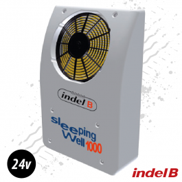 Indel B 24v. Rear Mounted Truck Cab Cooler. Air Conditioner.