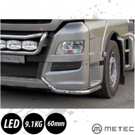 MAN TGX Corner Bumper Light Bars. Euro 6. Pre-Wired. With LED's. (Pair)