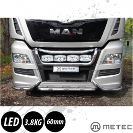 MAN TGX Mid Under Bumper Light Bar. Euro 6. Pre-Wired. With white LED's.