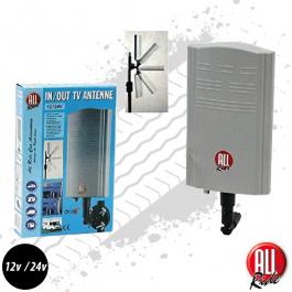 TV Aerial, DVB-T Indoor / Outdoor Antenna, Truck TV Aerial, 12/24v