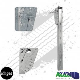 Hinged Sideguard Leg (Various Sizes) Lateral Protection System ASGK990 Series