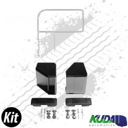 Single Pedestrian End Rail Kit Lateral Protection System ASGK990 Series