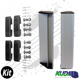 Double Pedestrian End Rail Kit Lateral Protection System ASGK990 Series