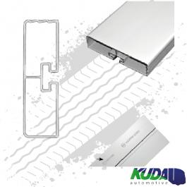 Anodised Aluminium Rail 3 Meters. Lateral Protection System ASGK990 Series