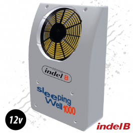 Indel B 12v. Rear Mounted Cab Cooler. Air Conditioner. Perfect for Vans, campers, motorhomes.