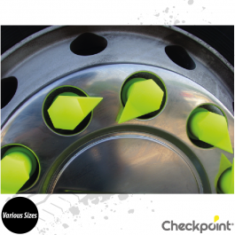 Checkpoint Dustite LR Yellow Wheel Nut Indicator - Various Sizes