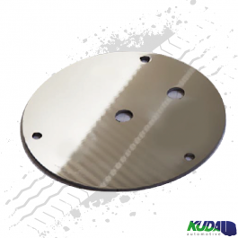 Beacon Mounting Plate, Compatible with 3 Bolt Beacon, Light Bar Mounting