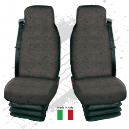 CLEARANCE Universal Fitting Truck Seat Covers, Hard Wearing Fabric (Pair)