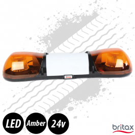 Britax Aerolite LED Light Bar, 750mm, Dual Voltage Beacon Bar