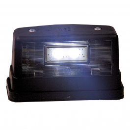 LED Number Plate / Position Light Black 12-24V