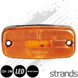 5 LED Side Marker Light. 12-24V.