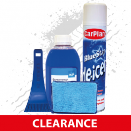 CLEARANCE Winter Care Pack, Inc Screen Wash, Ice Scraper, Demist Pad and De-Icer