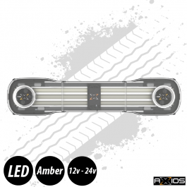 "Axios Lightbar - 54"", Inc. 2 Beacon Units, Controller and Junction Box, 12/24v"