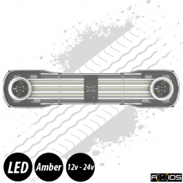 "Axios Lightbar - 39"", Inc. 2 Beacon Units, Controller and Junction Box, 12/24v"