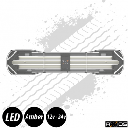 "Axios Lightbar - 39"", Inc. 4 Directional LED Units, Controller and Junction Box, 12/24v"